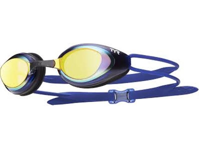 TYR Blackhawk Racing Polarized Gafas Hombre, gold/black/navy